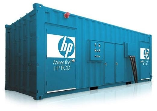 Server container for Windows Azure data center