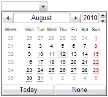 HTML5: Date picker