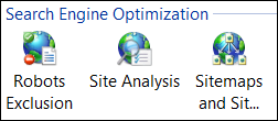 IIS SEO options