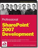 Professional SharePoint 2007 Development