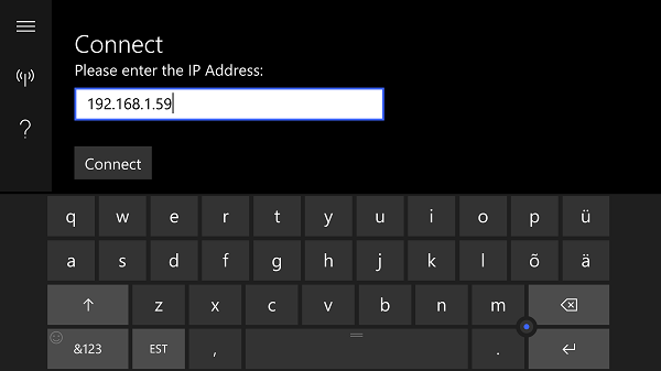 Windows IoT Remote Client on Lumia 950