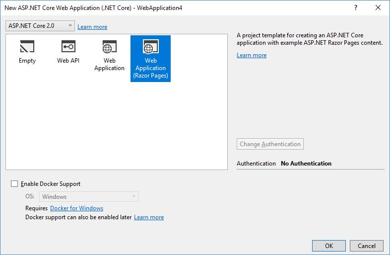 ASP.NET Core Razor Pages Template