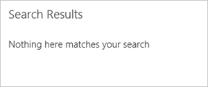 SharePoint Search Results Web Part with suggestions hidden