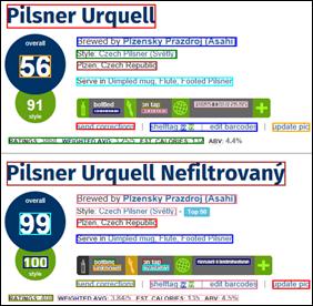 Pilsner Urquell rectangled