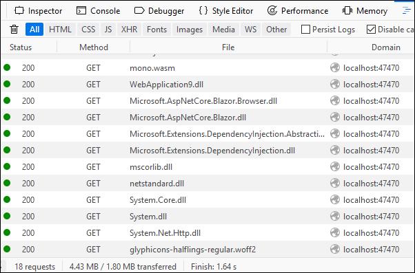 WebAssembly apps with Blazor
