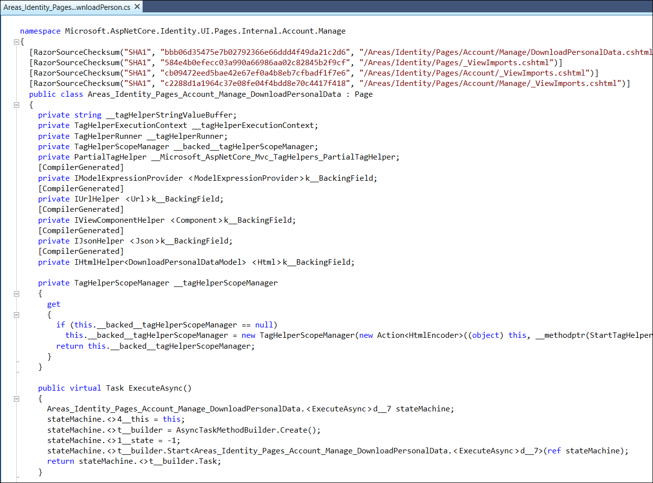 ASP NET Core Identity Scaffolding - DZone Web Dev