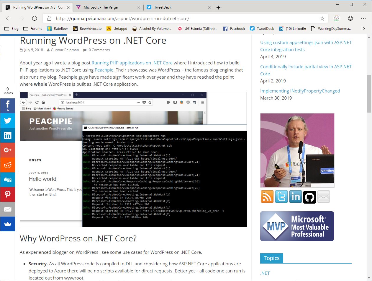 What's new in next version of Microsoft Edge
